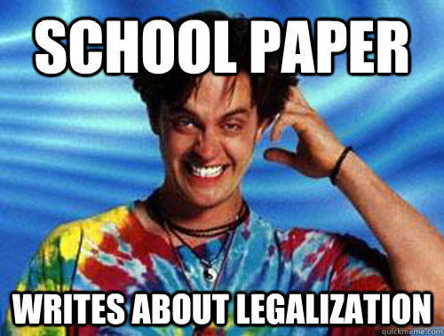 School Paper Writes about Legalization
