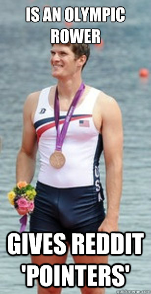 Is an Olympic Rower Gives Reddit 'pointers'
