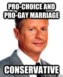 Pro-Choice and Pro-Gay Marriage Conservative - Pro-Choice and Pro-Gay Marriage Conservative  Good Guy Gary Johnson
