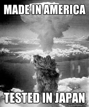 an argument in favor of dropping the atomic bomb on japan as decided by truman Dropping atomic bombs on japan was a went into effect before president harry truman decided to use atomic the argument that truman wanted to.