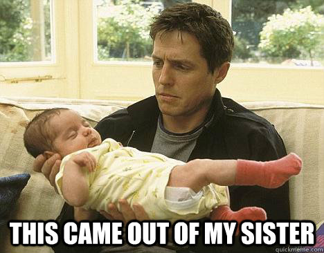 This came out of my sister