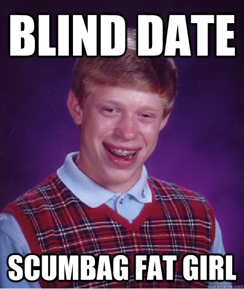 brian dating a blind girl