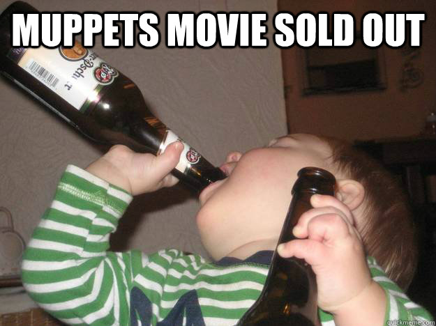 Muppets movie sold out