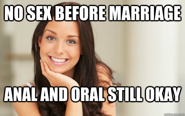 Is oral sex before marriage ok