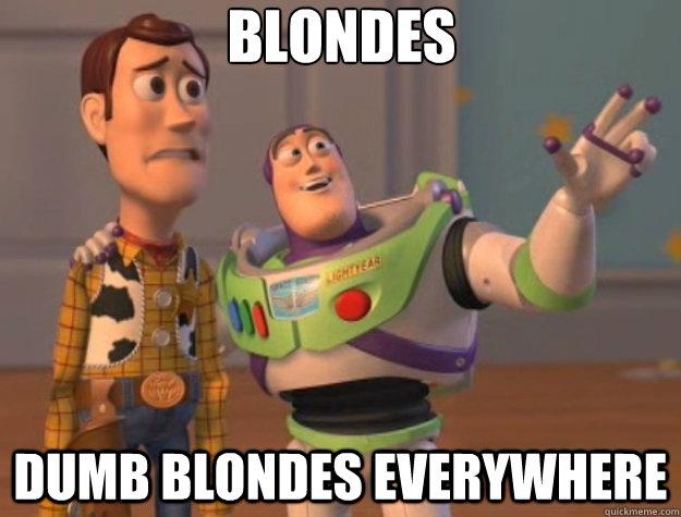Dumb Blonde Story 21