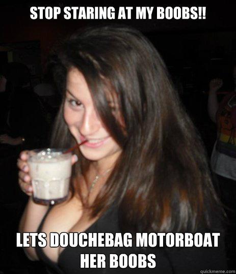 Motor boat boobs