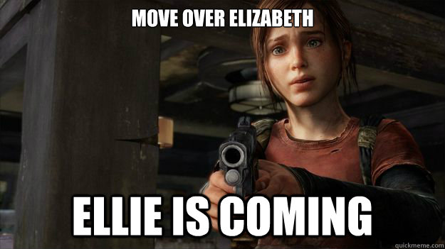 Move Over Elizabeth Ellie Is Coming - Move Over Elizabeth Ellie Is Coming  Misc