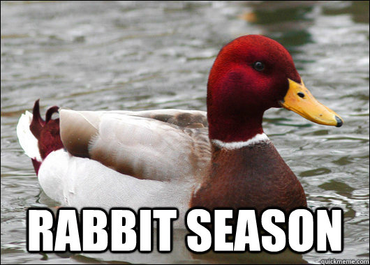 RABBIT SEASON -  RABBIT SEASON  Malicious Advice Mallard