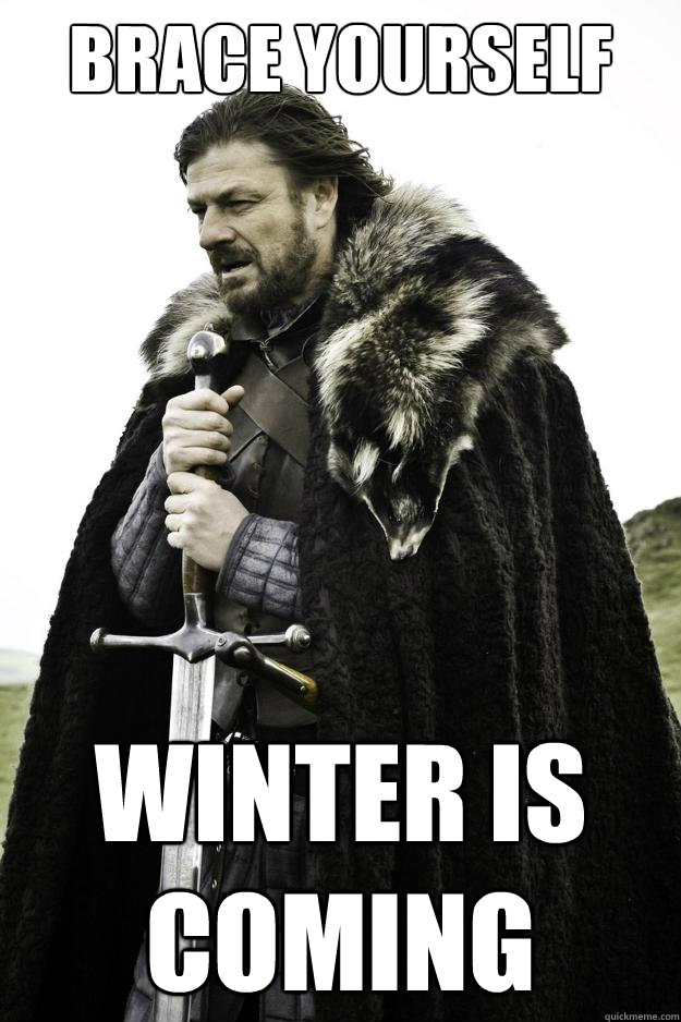 Brace Yourself Winter is Coming - Brace Yourself Winter is Coming  Winter is coming