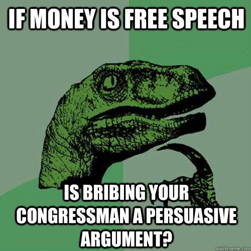 Persuasive speech about money
