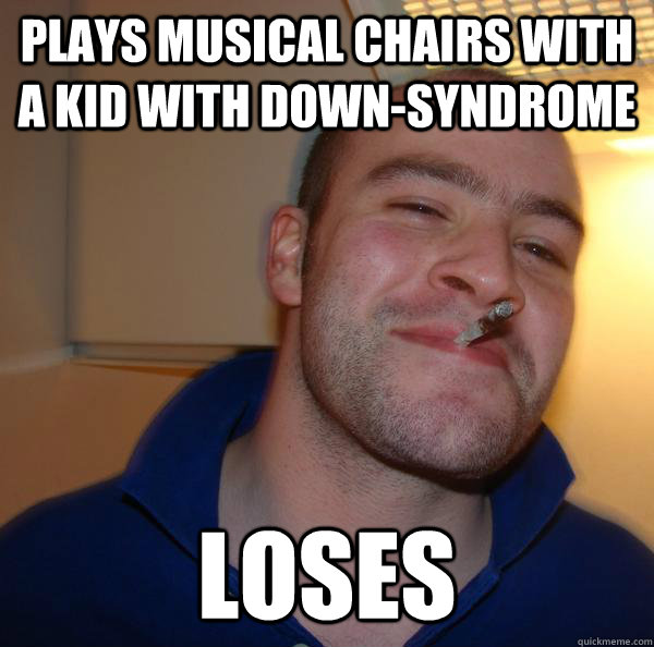 Plays musical chairs with a kid with down-syndrome Loses - Plays musical chairs with a kid with down-syndrome Loses  Misc