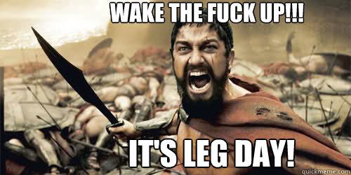 Its Leg Day Meme IT S LEG DAY