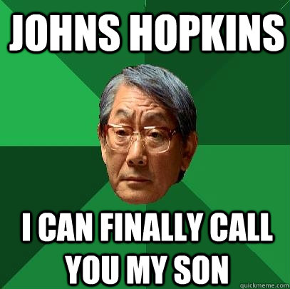 JOhns hopkins I can finally call you my son - JOhns hopkins I can finally call you my son  High Expectations Asian Father