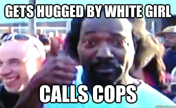 Gets hugged by white girl calls cops  Good Guy Charles Ramsey