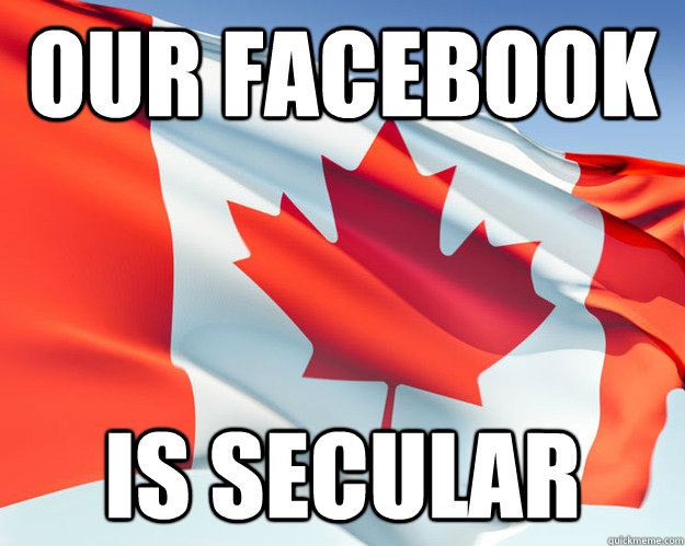 Our facebook is secular
