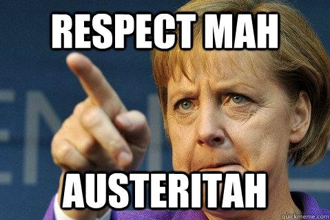Respect mah Austeritah - Respect mah Austeritah  Stern Merkel