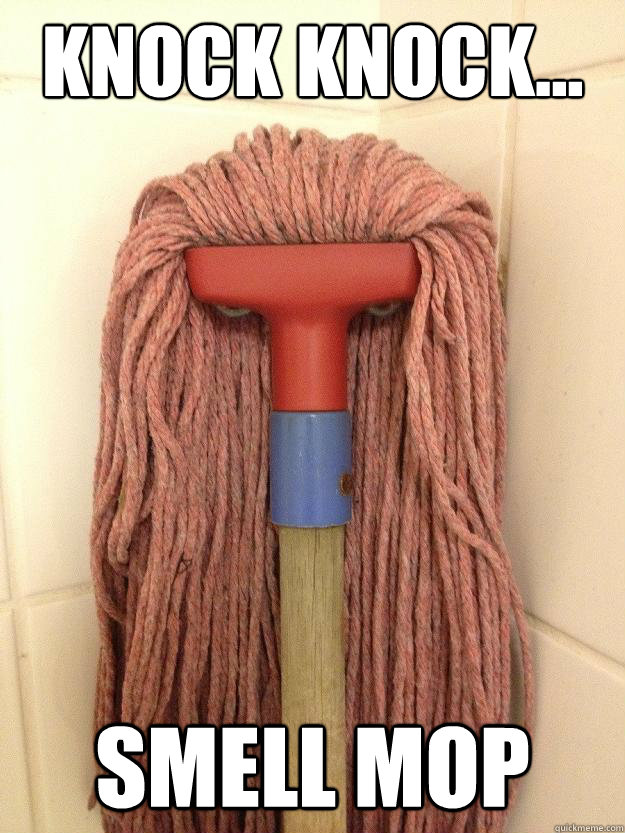 Knock Knock... Smell mop
