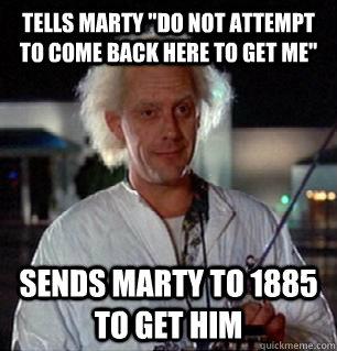 Tells marty