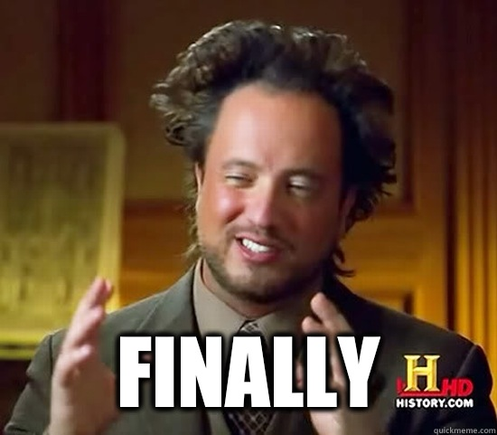 Finally  -   Finally   Ancient Aliens