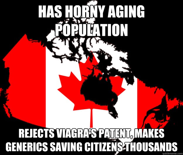 Has horny aging population Rejects Viagra's patent, makes generics saving citizens thousands