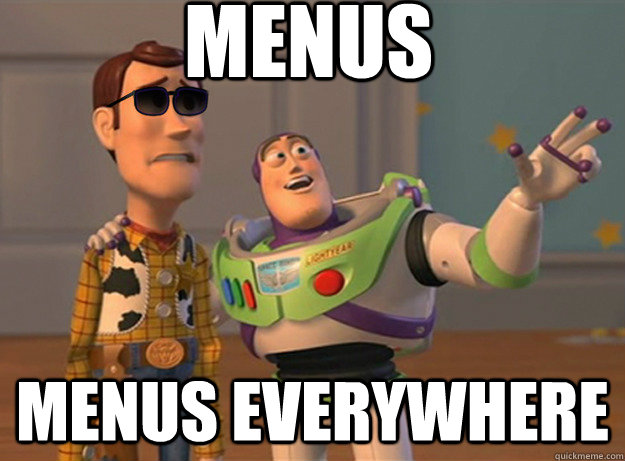 Menus menus Everywhere