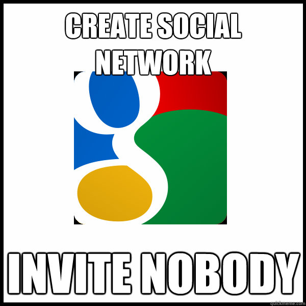 create social network invite nobody