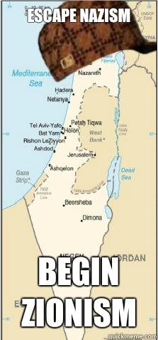 Escape Nazism Begin Zionism