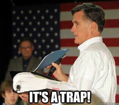 It's a trap! - It's a trap!  Mittens Trap