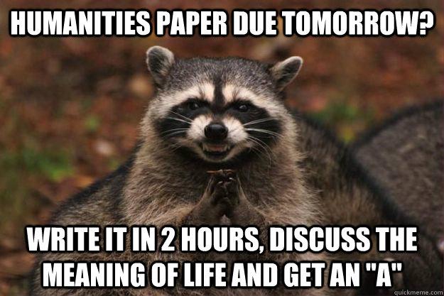 top college majors 2017 essay due in 2 hours