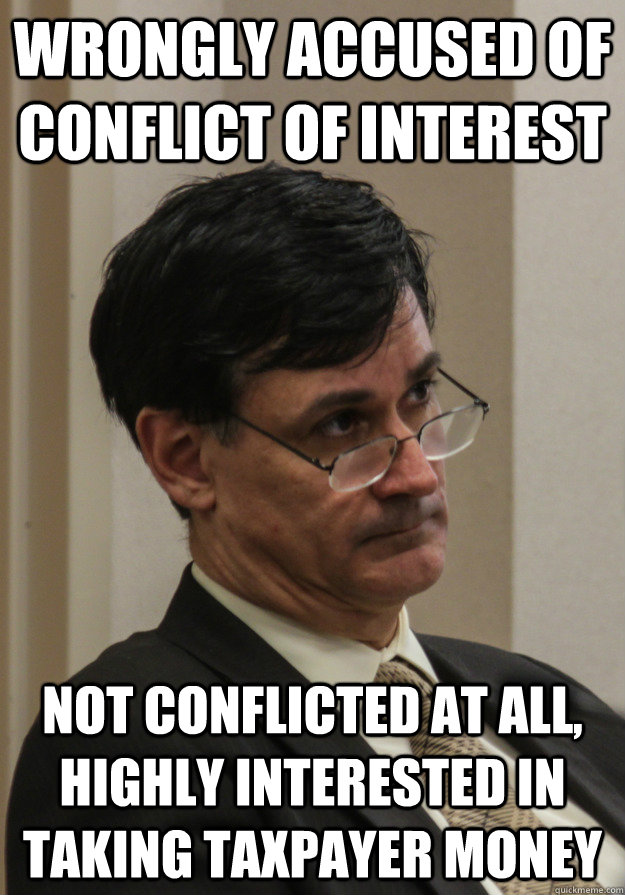 Wrongly Accused Of Conflict Of Interest Not Conflicted At All