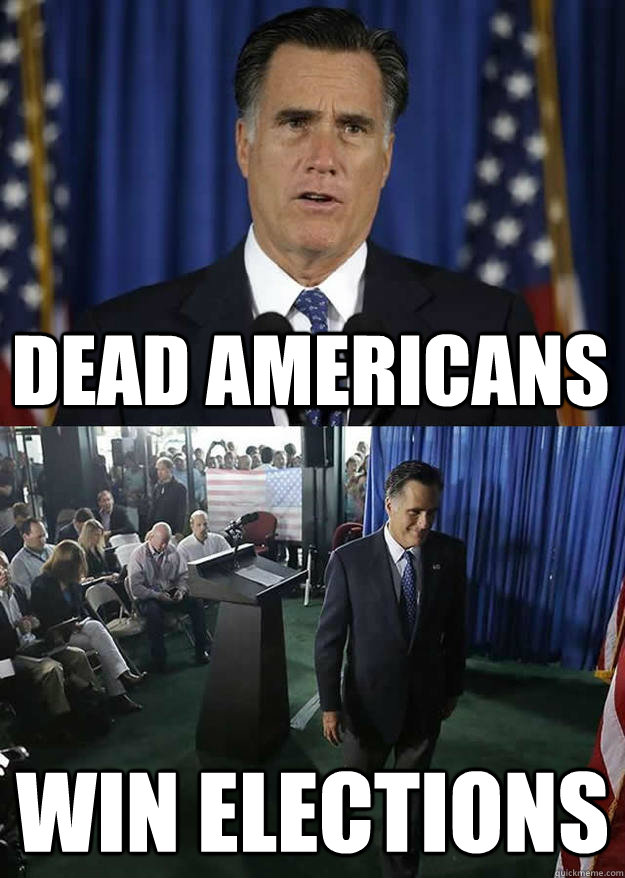 Dead Americans  win elections  - Dead Americans  win elections   mittwins