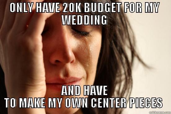 20k wedding budget quickmeme