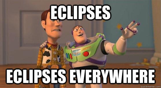 Eclipses Eclipses Everywhere - Eclipses Eclipses Everywhere  Toy Story Everywhere