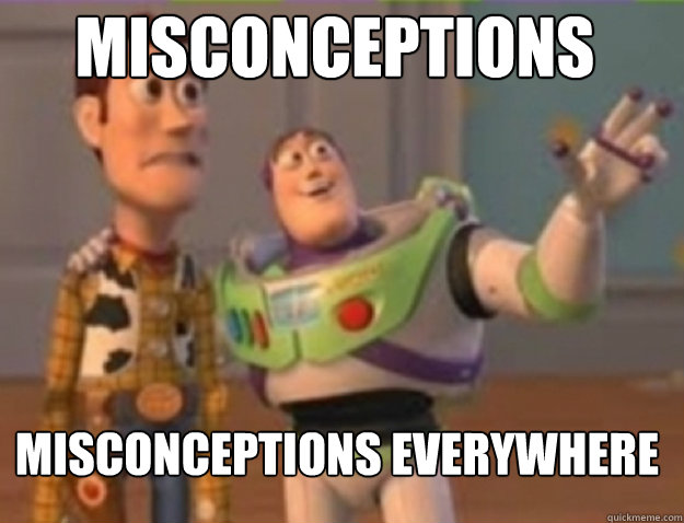 Misconceptions Misconceptions Everywhere