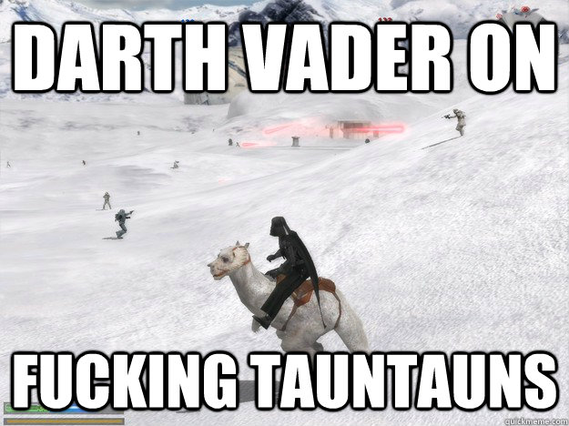 darth vader on fucking tauntauns - darth vader on fucking tauntauns  Misc