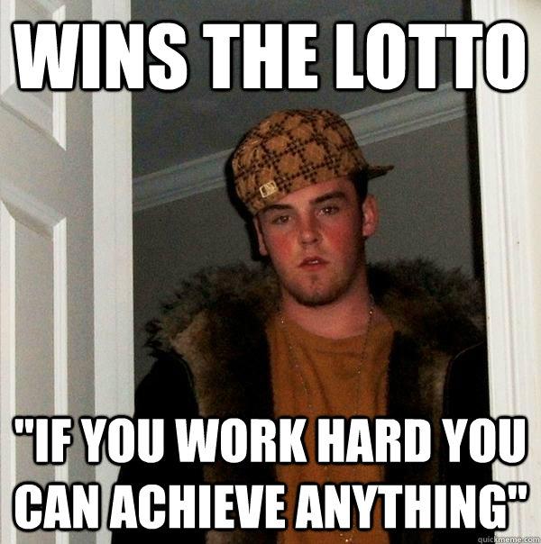 Wins the lotto