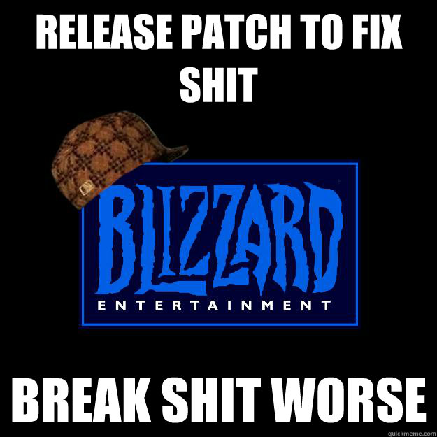 Release patch to fix shit break shit worse