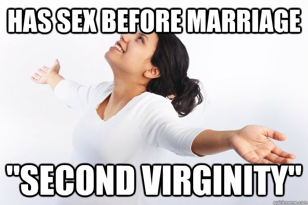 How that second marriage and no sex