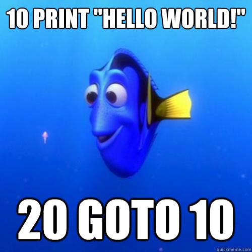 10 PRINT