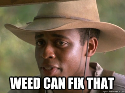 Weed can fix that - Weed can fix that  fixthat