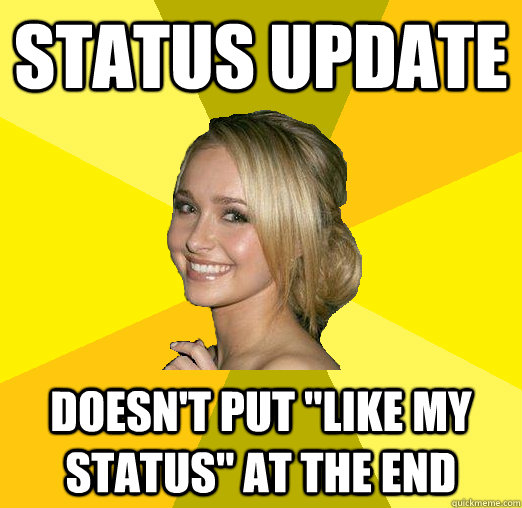 status update doesn't put