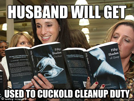 husband will get used to cuckold cleanup duty