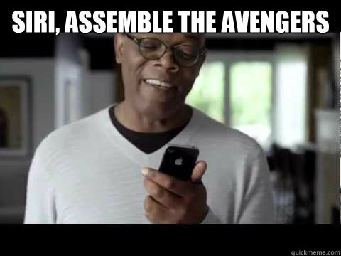 Siri, assemble the Avengers