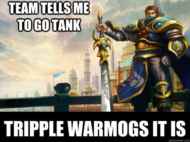 team tells me to go tank tripple warmogs it is - team tells me to go tank tripple warmogs it is  scumbag garen