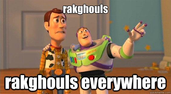 rakghouls rakghouls everywhere
