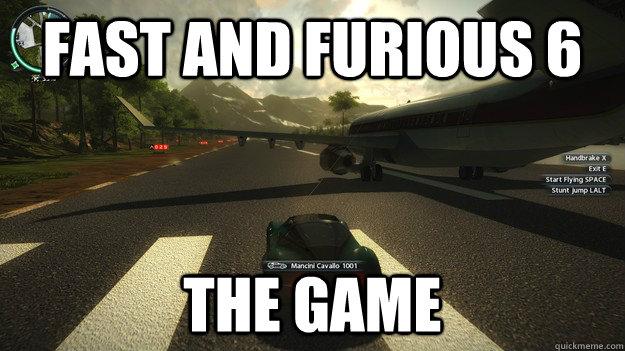 Fast and furious 6 The game - Fast and furious 6 The game  Misc