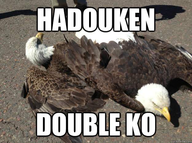 hadouken Double ko