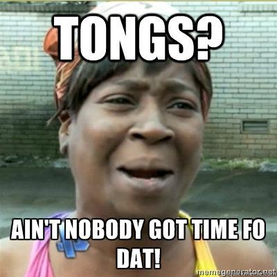tongs?