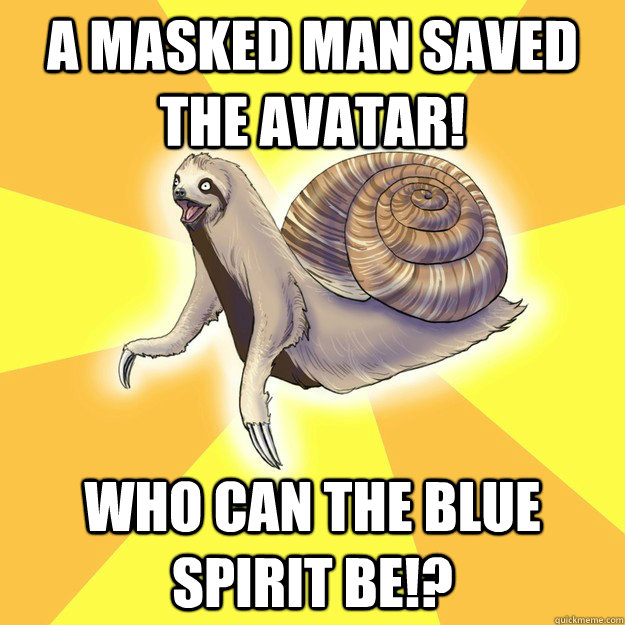 A MASKED MAN SAVED THE AVATAR! WHO CAN THE BLUE SPIRIT BE!?