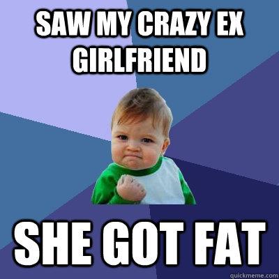 Psycho Ex Girlfriend Meme Saw my crazy ex girlfriend She